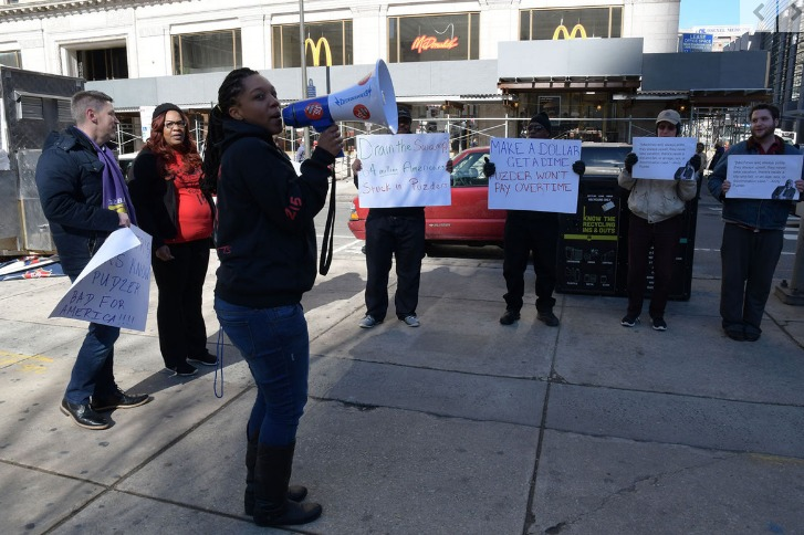 Fast food workers oppose Trump's pick for labor secretary