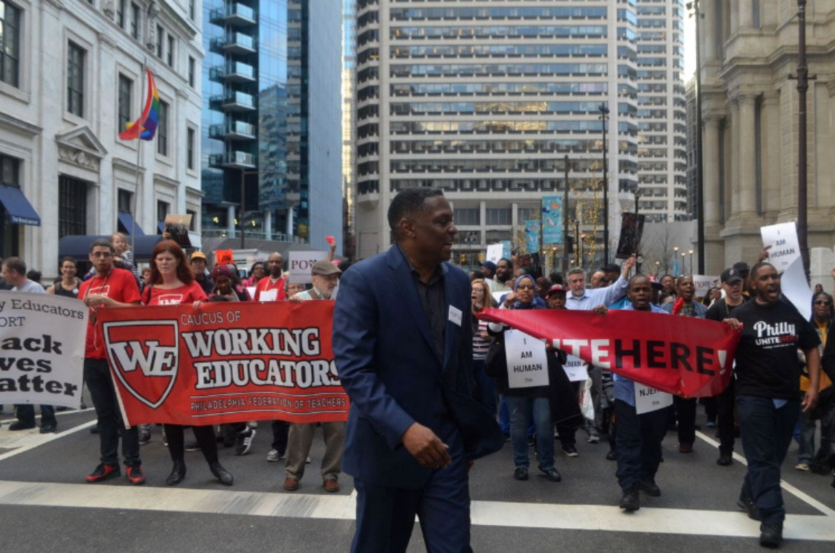 POWER Remembers MLK with March