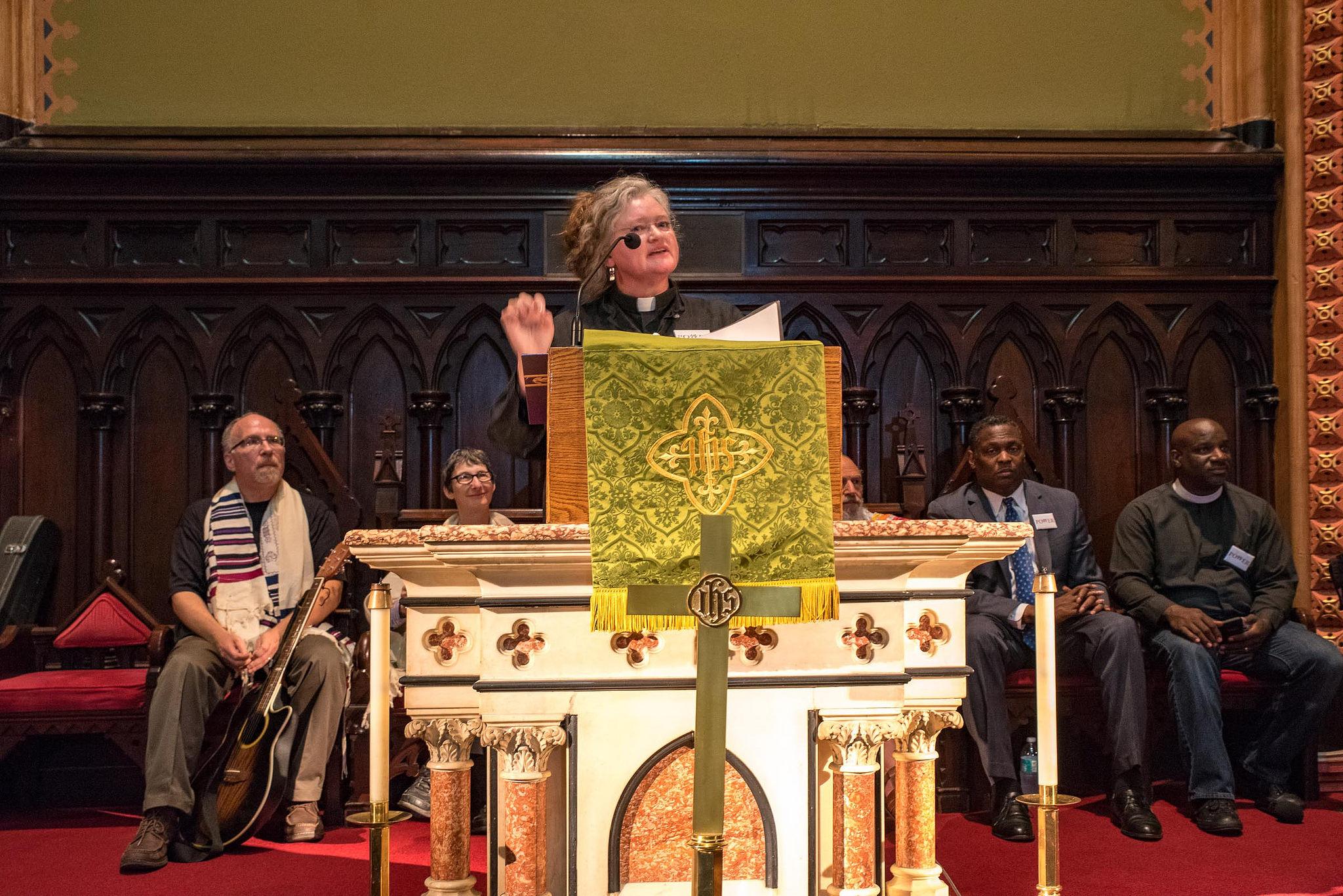 Philly is Charlottesville: Unmasking White Supremacy in Philadelphia Speech – Pastor Linda Noonan