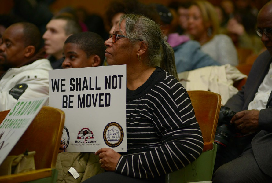 Temple Stadium Stompers pack town hall