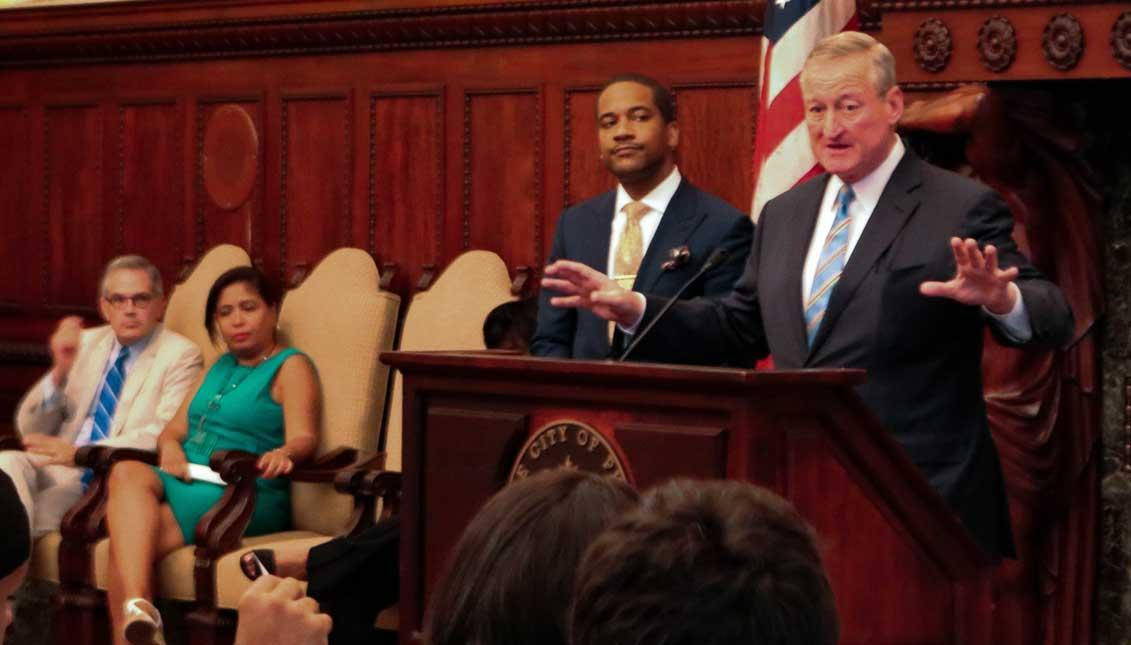 Mayor Kenney proposes minimum wage hike for Philly employees, contractors