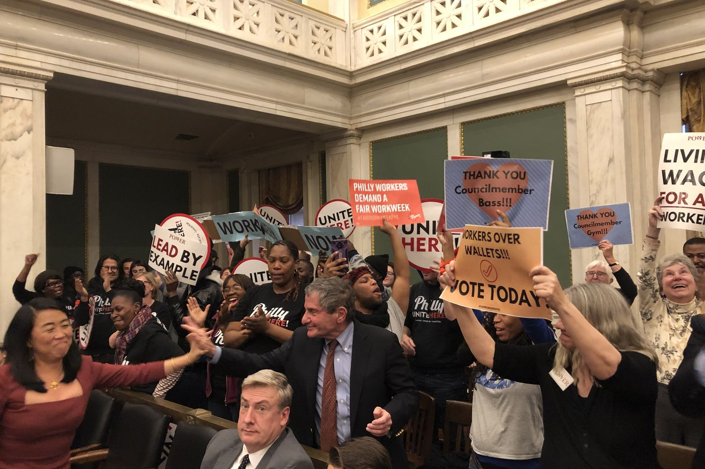 Council approves bills for 'Fair Workweek' and $15/hr. wage hike