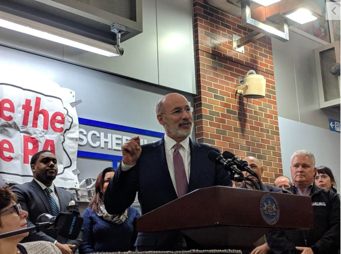 Gov. Wolf brings fight for $15 minimum wage to Philly