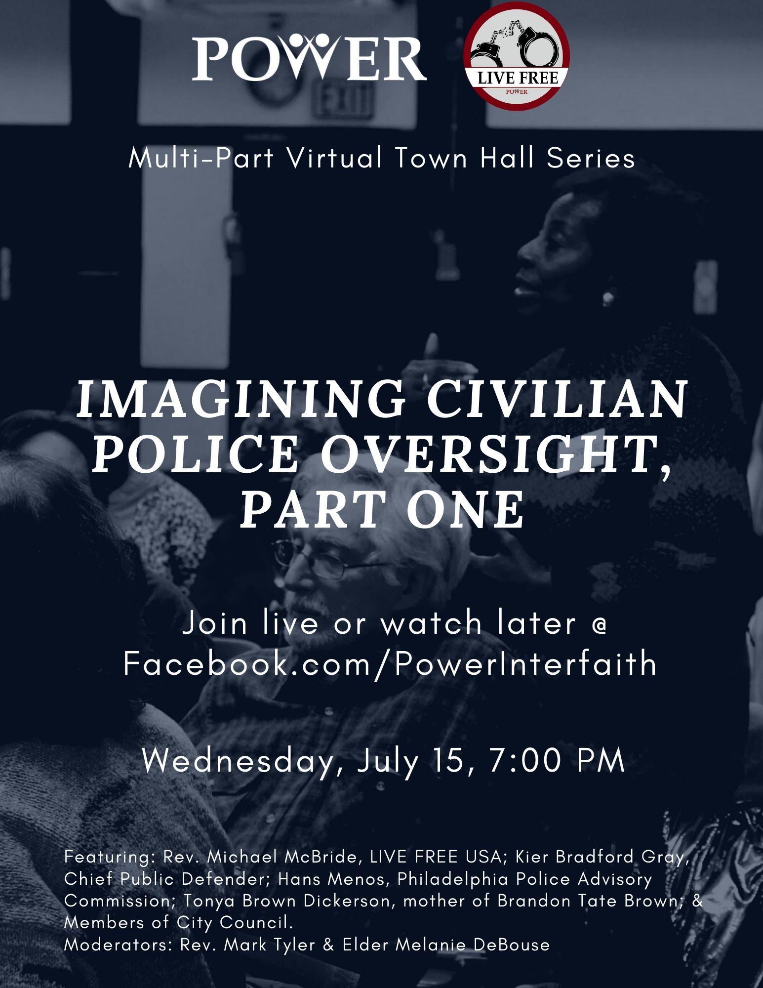 Imagining Civilian Police Oversight Flyer